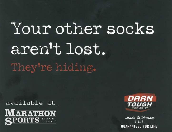 Socks Arent hiding