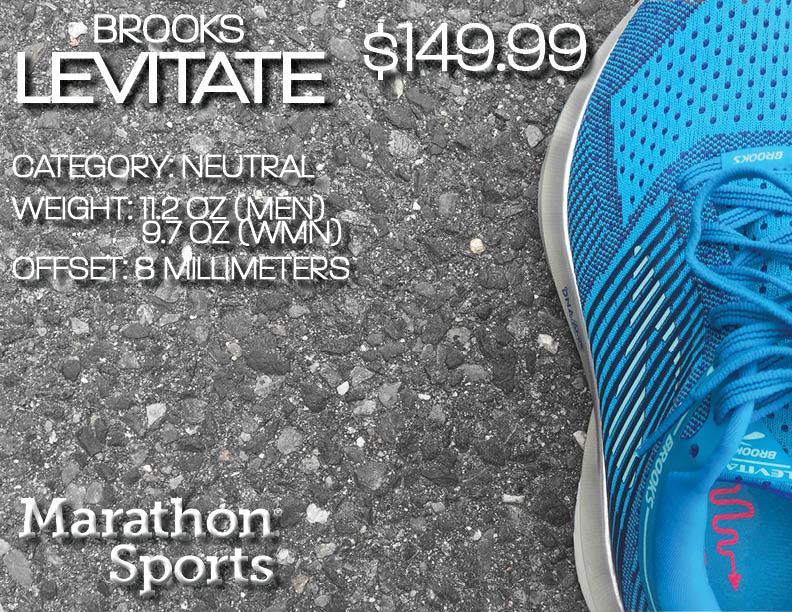 72331a51cfd SHOE UPDATE  Brooks Levitate. LEVITATE